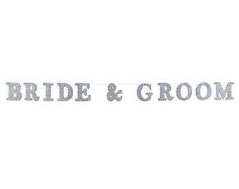 Bride & Groom Garland / Wedding decorations / Awesome wedding decor