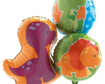 Sweet Baby Dinosaur party balloons / dinosaur theme party