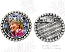Unique hillary clinton pin related items | Etsy