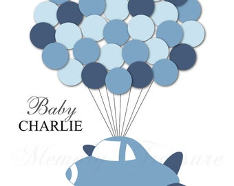 Baby Shower Guest Book Alternative Airplane Baby Shower Airplane Guest Book Poster Guest Sign In Airplane Nursery Cargo Baby Shower