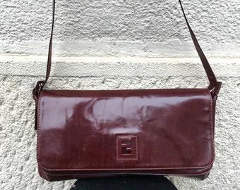 FENDI - 90s Fendi Calf Leather Bag