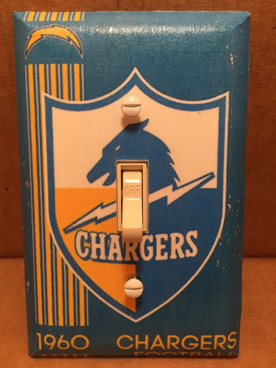 San Diego Chargers Light Switch Cover Handmade Sports