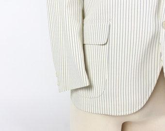 Vintage Striped Sport Coat / 1960's Sportcoat / Boater Stripe Jacket / Vintage Jacket / Striped Blazer