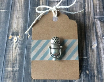 "Shop ""microphone"" in Cuff Links & Tie Clips"