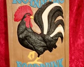 Rooster Inn Pub Sign