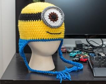 Minion Earflap Hat