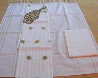 Handloom  churidhar set