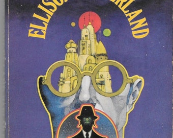 Ellison Wonderland PB Harlan Ellison Short Stories Robert Pepper Cover Science fiction Speculative fiction Signet T451