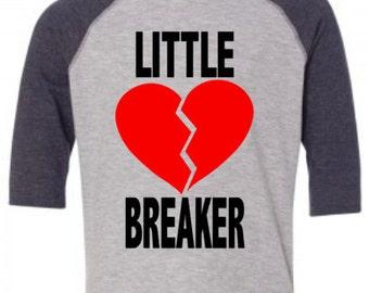 Toddler Boys Little Heart Breaker Valentine's Raglan