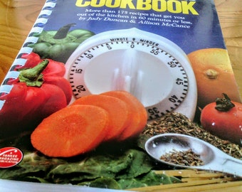 The Clock Watchers Cook Book  1983