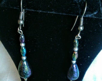 Handmade Earrings From Vintage Broken Jewelry
