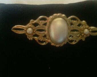 Vintage Faux Pearl Brooch!!!