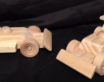 Set of 2 Race cars