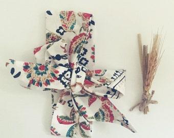 Pattern Headwrap /cotton headbands / cotton turbans / head wraps / headband