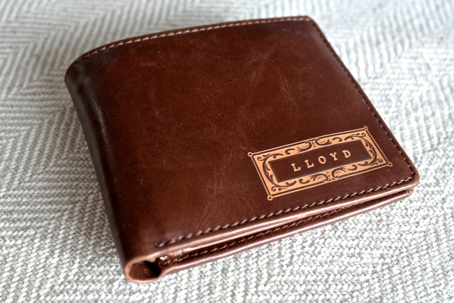 Personalized Men S Wallet Leather Wallet The Perfect