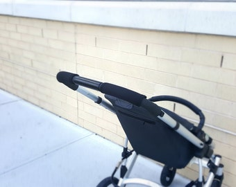 Padded Stroller Handlebar Cover, Britax Handlebar Cover, Jogging stroller, Baby Jogger Handlebar Cover, Bob Flex, Bob Stroller, black cover