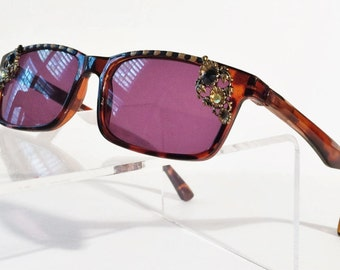 Bling Sunglasses, Tinted Reading Glasses +1.50
