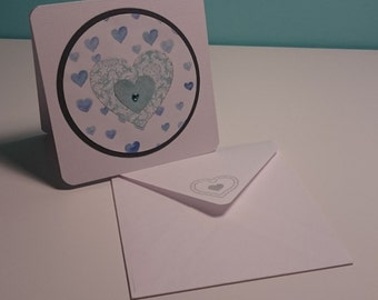 Sweet square card