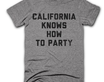 Hip Hop Shirt - California shirt - cali shirt - california tshirt - Unisex Triblend T-Shirt - Gangsta rap