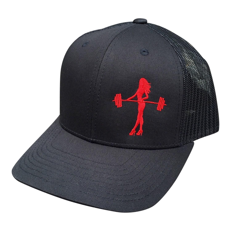 Workout Hat Trucker Hat Retro Trucker Snapback Hat Fitness