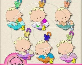 Baby Brella Exclusive Blonde Hair