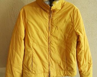 MISS SIXTY Basic Italy Fur Faux Coat Jacket Size Small