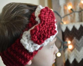 Valentine's Sweetheart Headwarmer Headwrap