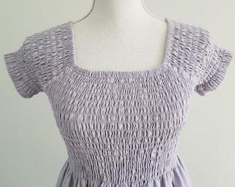 Lovely lilac maxi dress