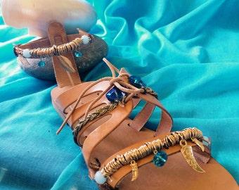 """Handmade Sandals """"IOKASTI"""""""