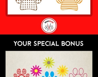 Paw SVG DXF Bundle Set/ Paw svg cut files/ Animal Paw svg/Bear Paw SVG/ Paw Silhouette/ Paw Monogram/ Paw Clip art/ Chevron Paw/ Paw Ribbon