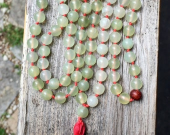 Jade Full Length Mala
