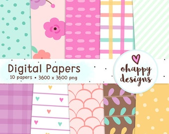 Think Beautiful Digital Papers