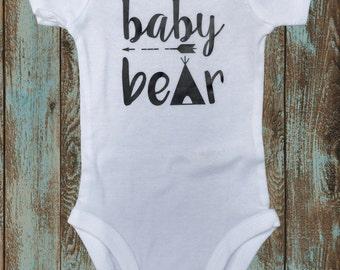 Baby Bear Newborn Baby | Coming Home Onesie
