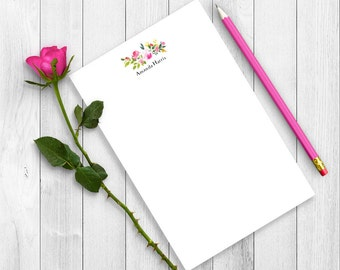 Personalized Note Pad, Personalized Notepad, Mom Note Pad, Personalized Stationary, Gift For Teacher, Writing Pad, Writing Paper, Custom Pad