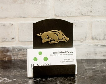 Collegiate Logo Classic Business Card Holders | 28 Styles