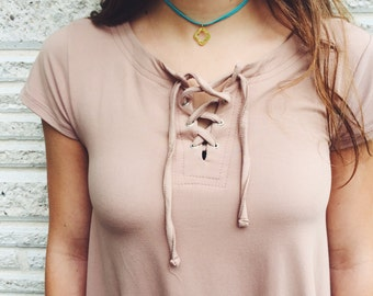The Elise-- Wrap Choker