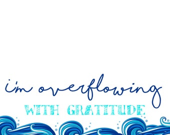 Overflowing - Thank You Cards