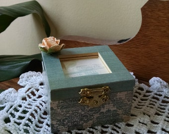 Air Mail Wooden Box