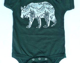 SALE + Free Shipping - Baby One-Piece CA BEAR