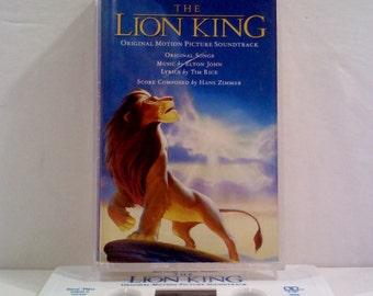Disney Lion King Soundtrack on Cassette Tape