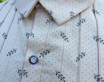 Mens Civil War Era / 19th Century Shirt - Made To Order