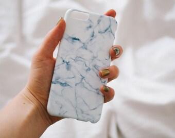 iPhone 6 Case Marble- Blue Marble iPhone 6 Case - iPhone 6 case - Hard Plastic, Slim Fit