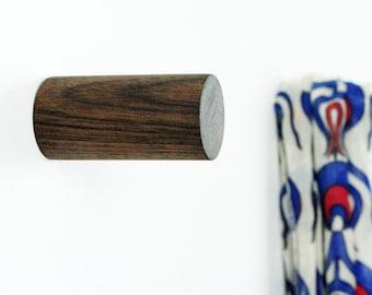 Wooden Wall Hooks / Wooden Coat Hooks / Concrete Wall Hooks / Concrete Peg / Modern Concrete Hook