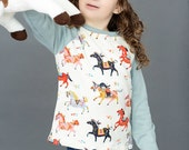 organic baby clothes, organic toddler clothes,  organic baby shirt, wild horses shirt, baby shirt, toddler shirt, baby t shirt, kids clothes