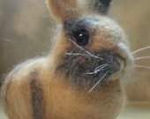 YOUR RABBIT - Custom Pet Rabbit - 3D Pet Replica - Pet Memorial - Needle Felted Rabbit - Made To Order