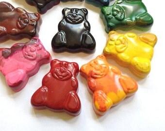 Bear Crayons, Bear Shaped Crayons, Crayon Shapes, Kids Coloring, Coloring Book Tools, Bear Toys