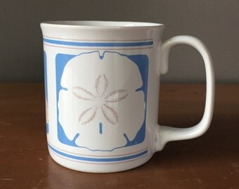 Sand Dollar and Seashell Coffee Mug