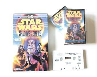 Star Wars Shadows of the Empire by Steve Perry audio book on tape / Science Fiction by Lucasfilm