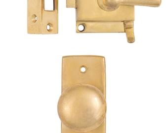 Screen Door Brass Set