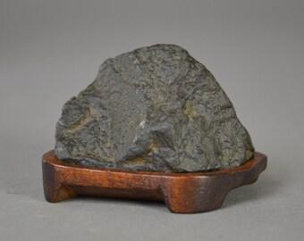 Japanese Scholars Stone. Suiseki. Japanese Zen Rock Garden. One